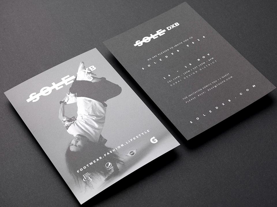 Sole DXB 2014 Event Invite