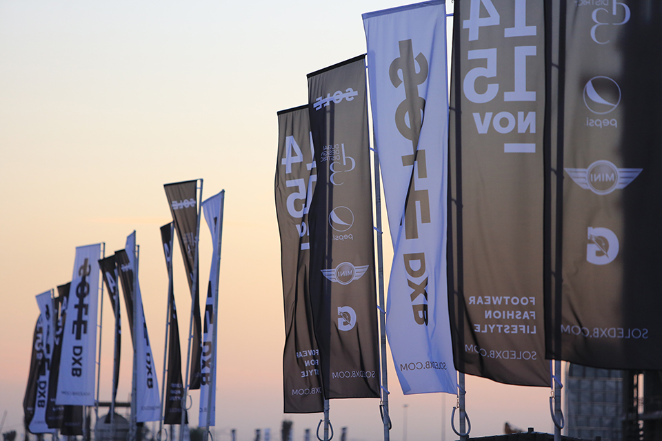 Sole DXB 2014 Event Flags