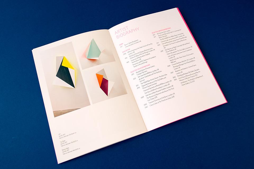 The Third Line Catalogue Inside Spread Rana Begum