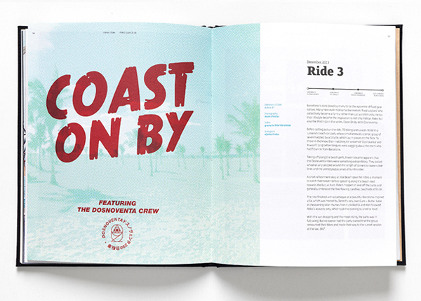 PUMA Fishtail Rides  Book Design