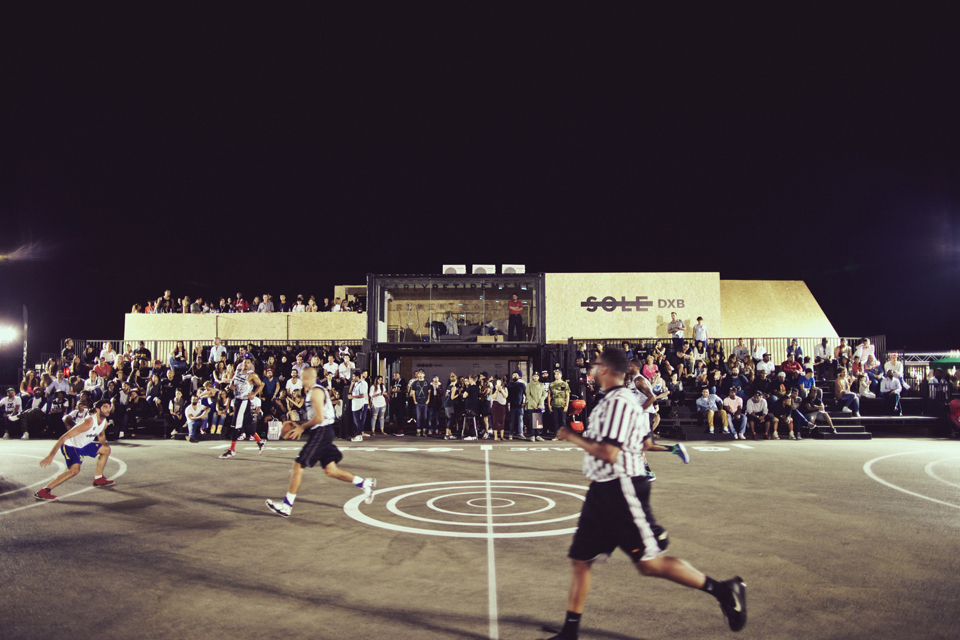 Sole DXB 2014 Event Basketball Court
