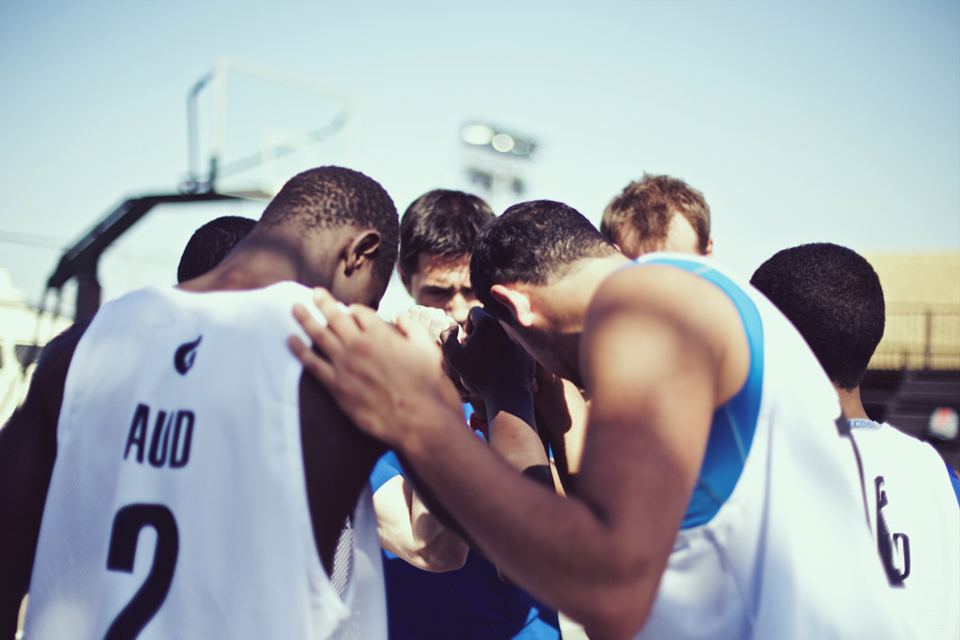 Sole DXB 2014 Event Basketball
