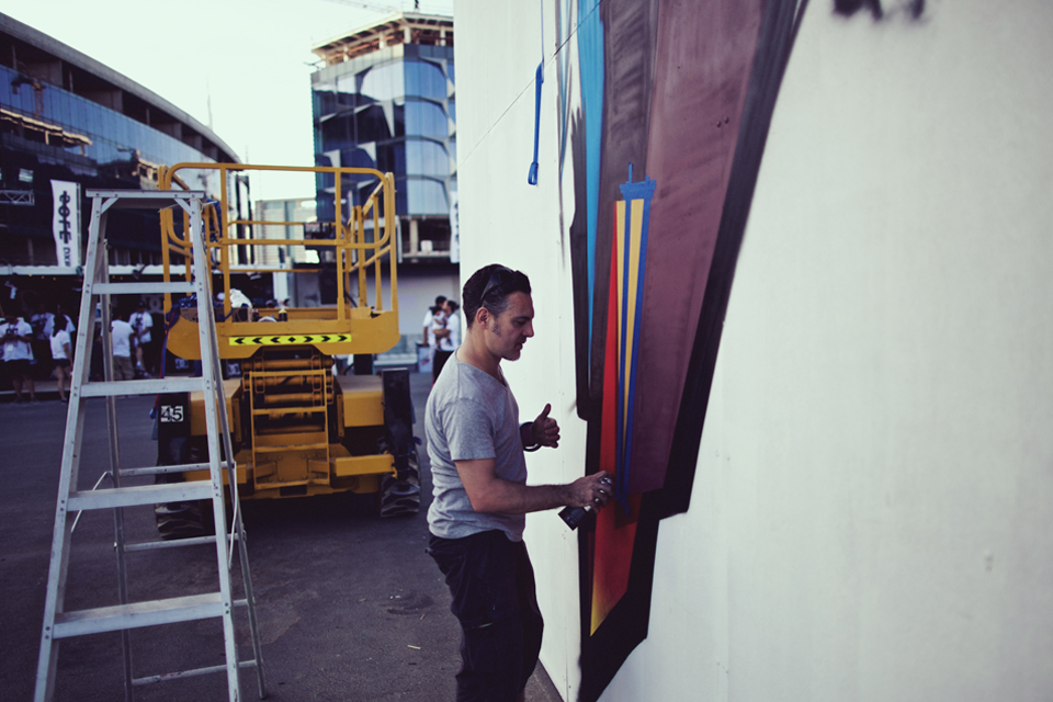 Sole DXB 2014 Event Remi Rough Artist