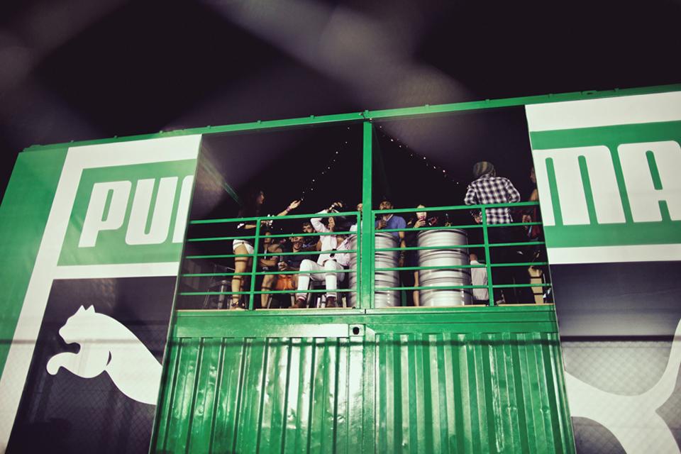 Sole DXB 2014 Event PUMA Stand