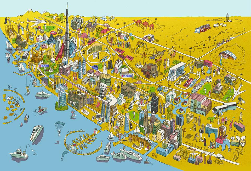 Better Homes Dubai Map