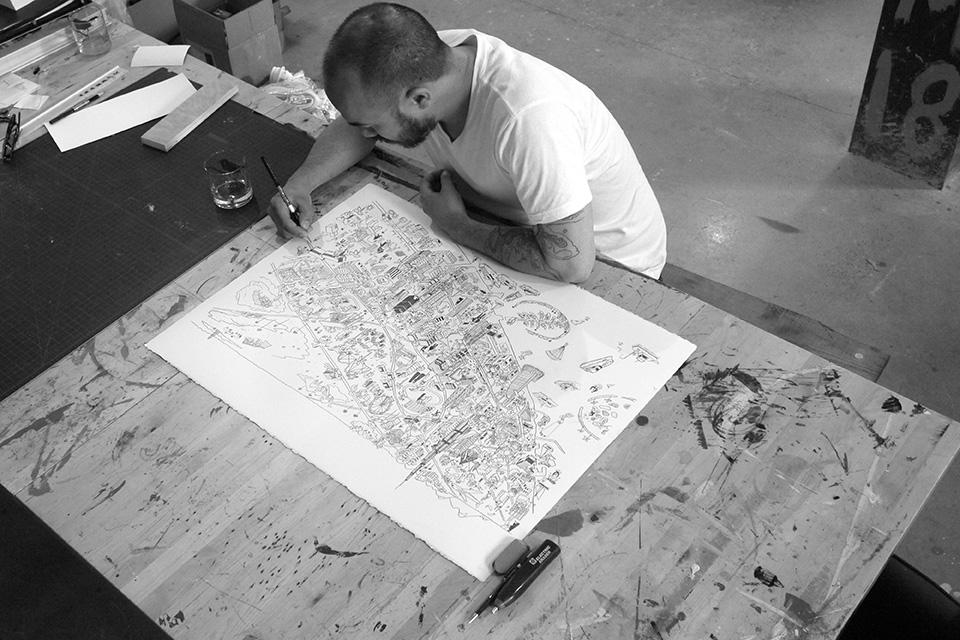 Better Homes Dubai Map Josh Cochran In Studio
