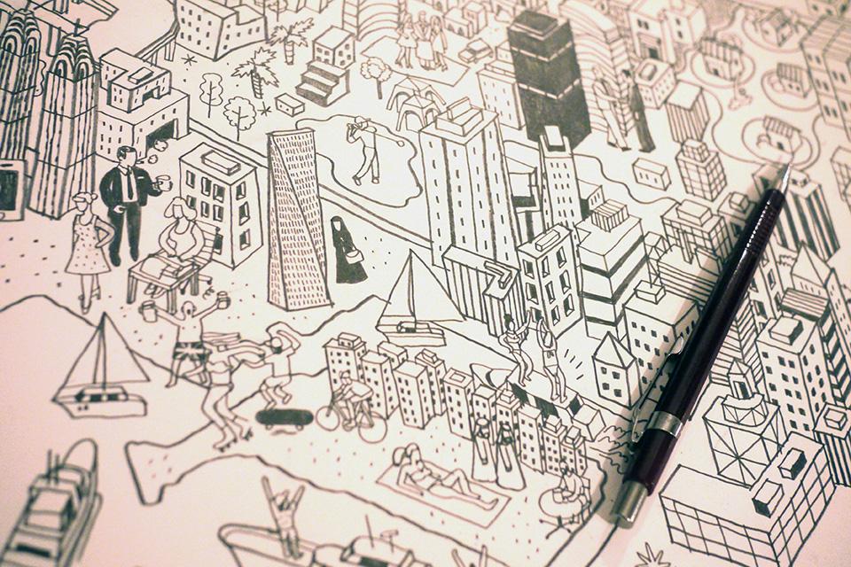 Better Homes Dubai Map Drawing Detail