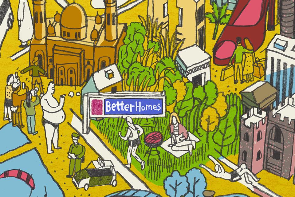 Better Homes Dubai Map Detail