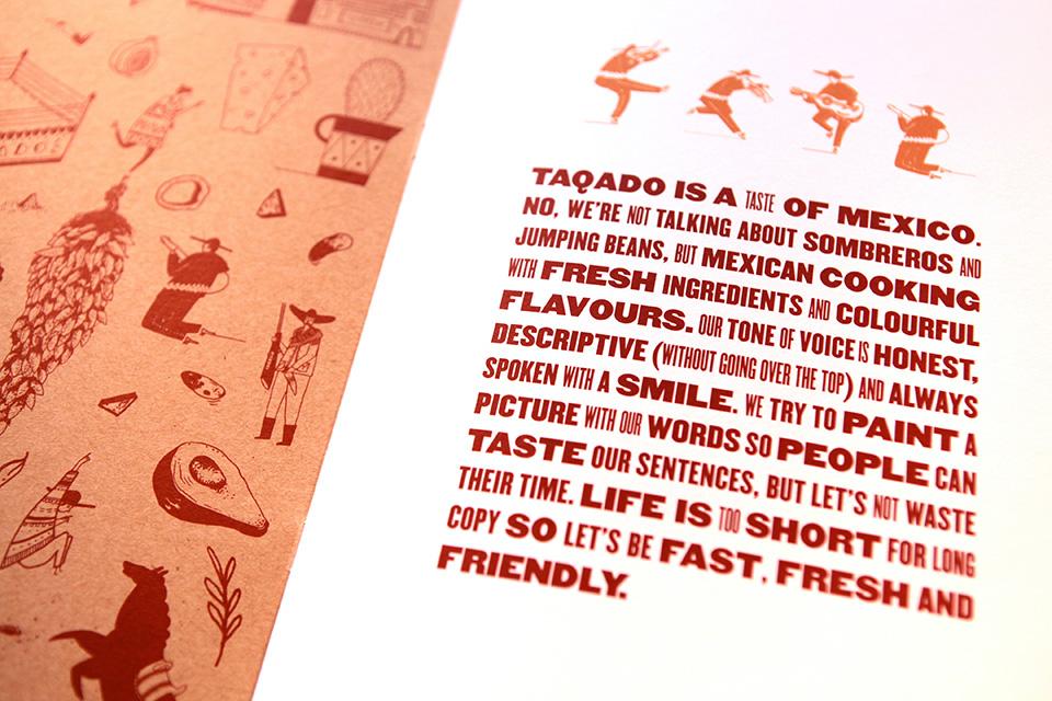 Taqado Mexican Kitchen Manifesto