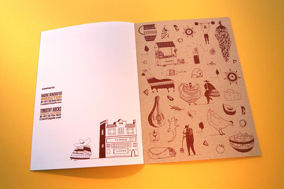 Taqado Mexican Kitchen Brochure