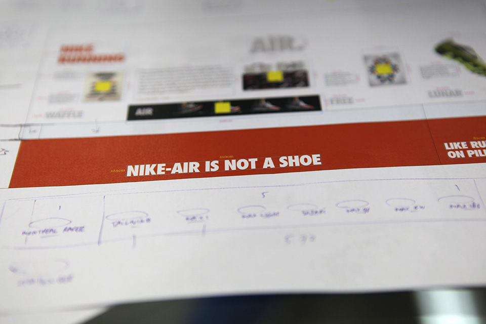 Nike Sportswear Exhibition Designs