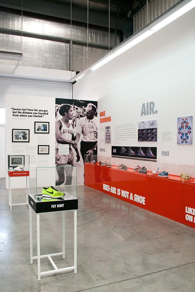 Nike Sportswear Exhibition Running History