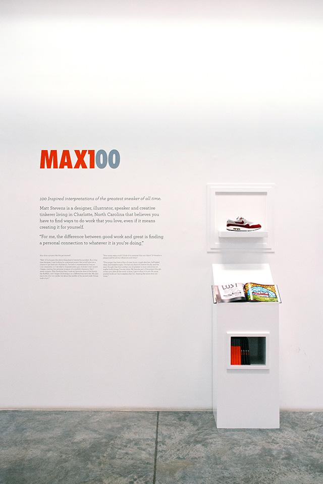 Nike Sportswear Exhibition MAX100