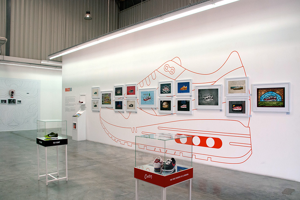 Nike Sportswear Exhibition MAX100 Wall