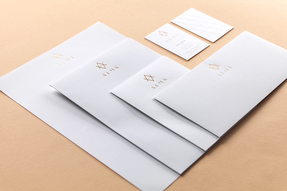 Alma Identity Stationery Suite