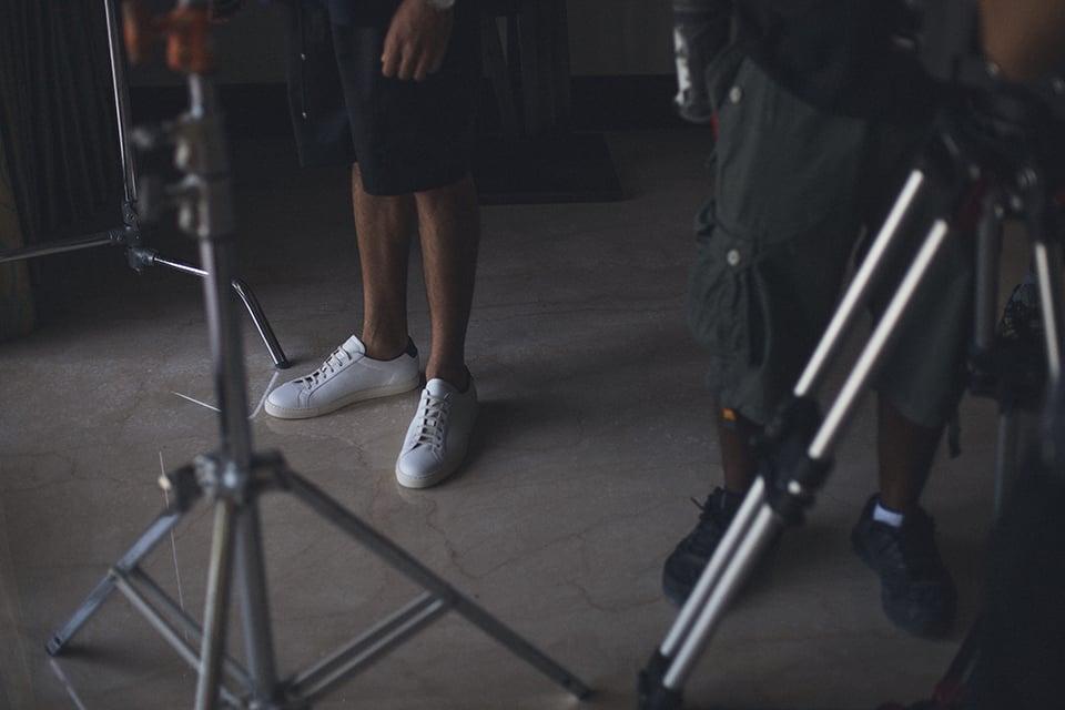 Level Shoe District Level Series Designer Sneaker Behind the Scenes