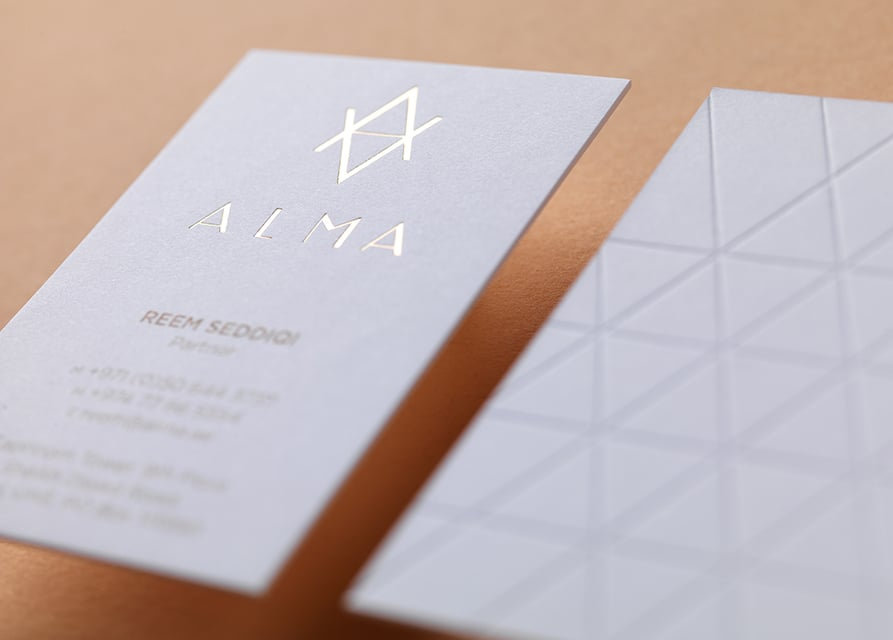 Alma   Naming, Identity, Logotype, Stationery