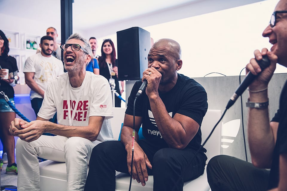 Sole DXB 2015 Event Talks with Darryl 'D.M.C' McDaniels and Stretch Armstrong