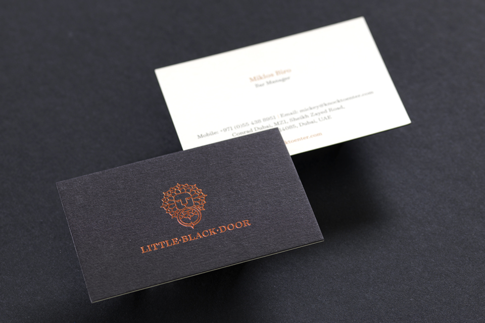 Little Black Door Business Card