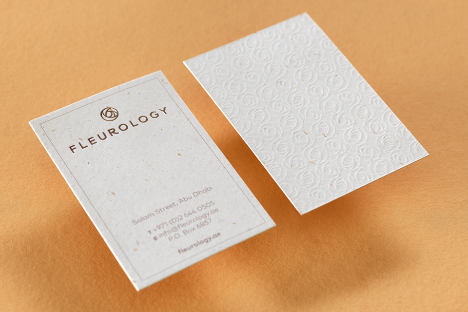 Fleurology Business Cards