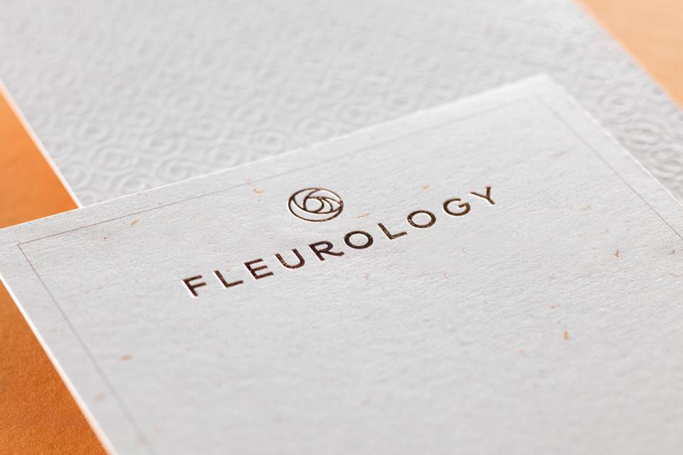 Fleurology Compliments Card