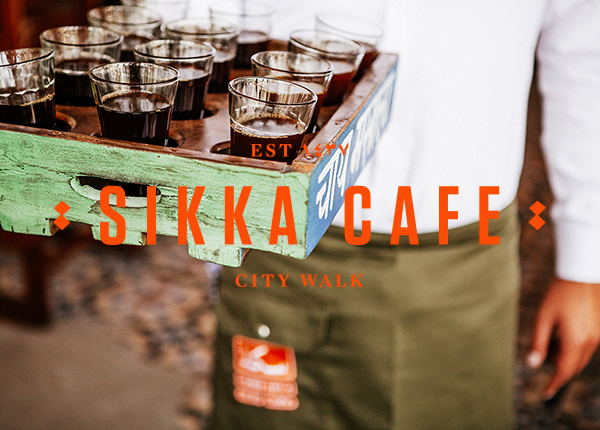 Sikka Café  Brand, Identity, Website, Collateral, Packaging