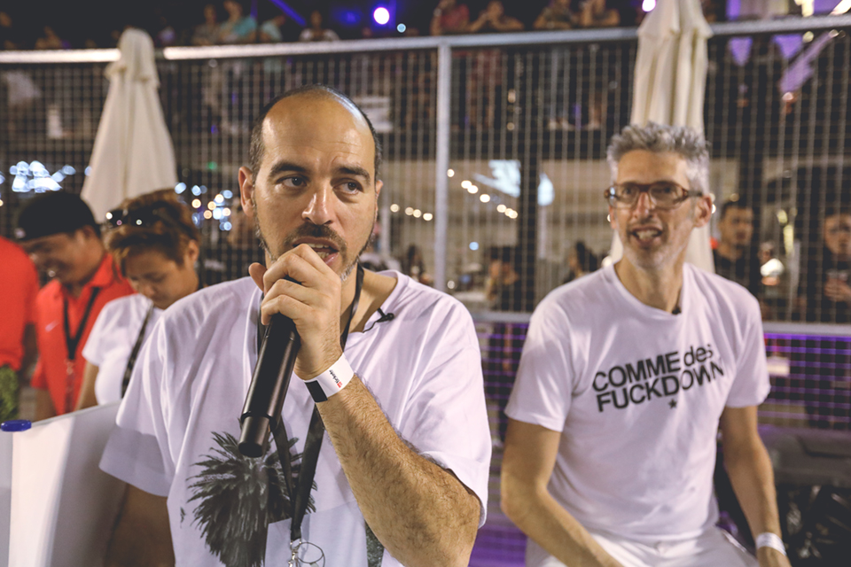 Sole DXB Event 2016 Bobbito & Stretch Armstrong