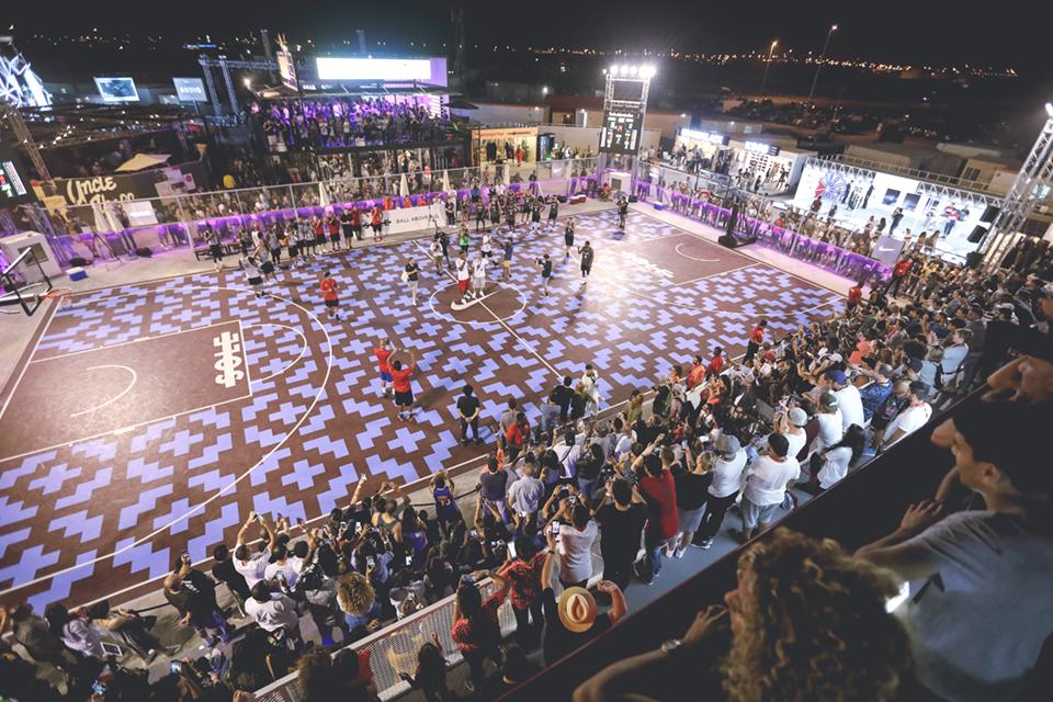 Sole DXB Event 2016 Basketball Court Design