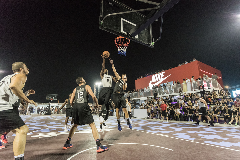 Sole DXB Event 2016 Basketball Court and Uniforms