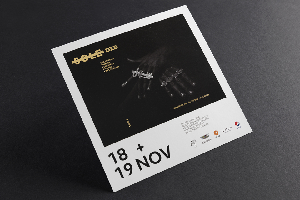 Sole DXB 2016 Event Flyer