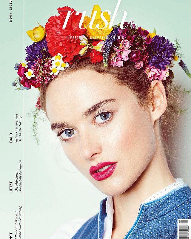 Coverstory @rush4.magazine  Photographer: @oliverrauh  DOP: @martinkulastudio  Stylist: @oliverrauh @abousuede_samir Make-up: @happyspecki  Hair: me @les__artists  Model: @_aliina_h @munichmodels  Retouch: @elektronischeschoenheit  Dirndl: @ludwigbeck  Location: @platzlhotelmunich  #newwork #editorial #magazine #trachten #rush4 #teamwork #dirndl #model #oktoberfest #flowers #flowercrown #love #redlips #potrait #makeup #glow #makeupartist #hairstylist #potd #instagood #instadaily #amazing #fashion #represented #lesartists