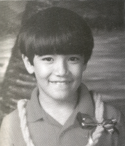 David in the second grade at mokulele Elementary, Hawaii