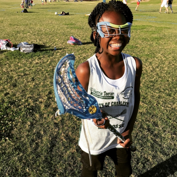 Born to play lacrosse