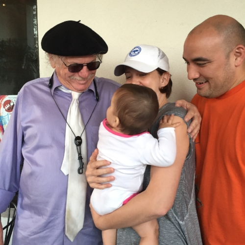 Baby Ruby meets Jazz Great Richie Cole.