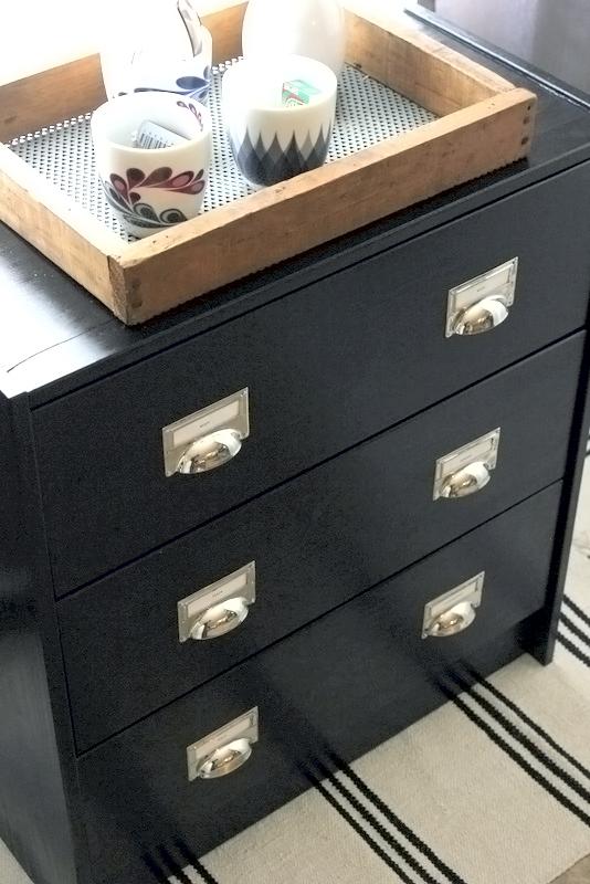 Industrial look IKEA RAST chest hack