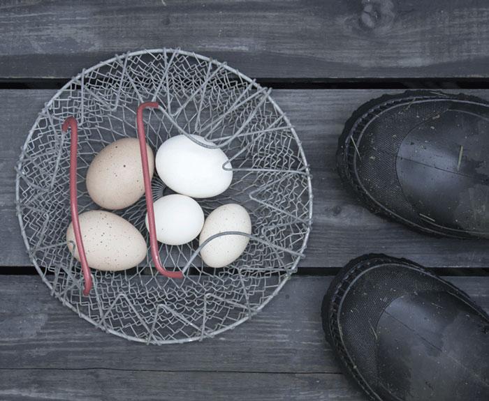 复古鸡蛋篮子