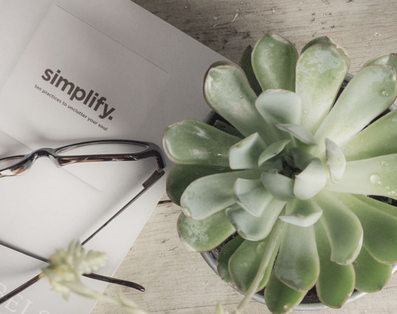 how to simplify your home and life