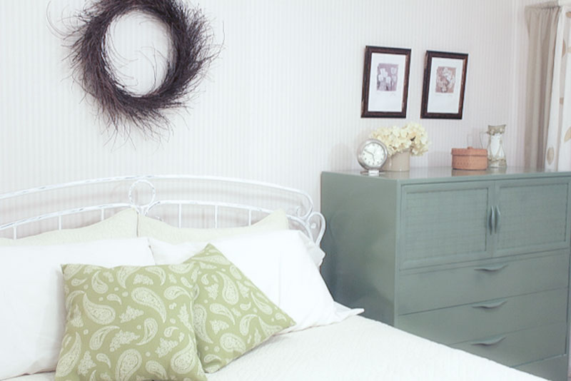 DIY dresser paint refresh