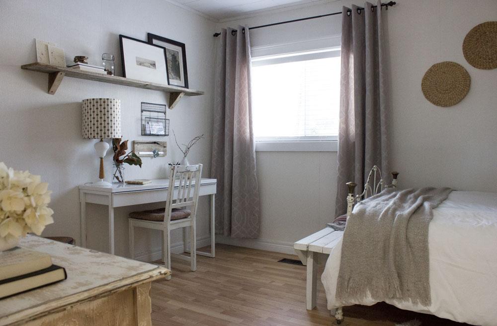 预算卧室家庭办公室DIY刷新