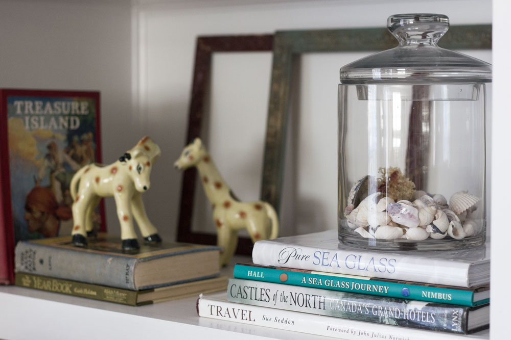display collections and bring in touches of nature