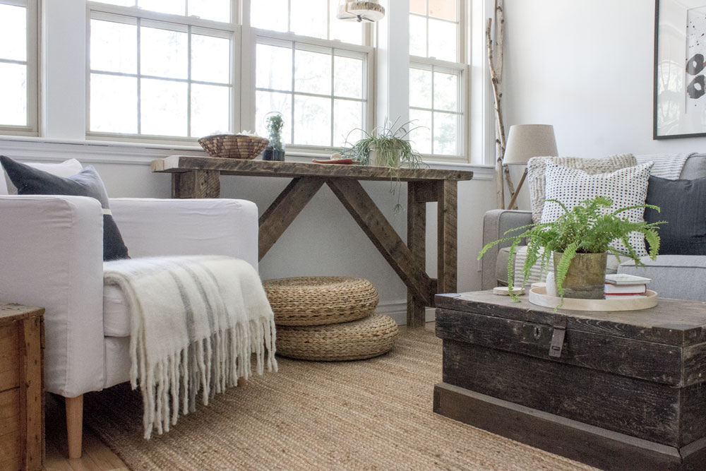 Modern Rustic Woodland Cottage—SimpleHomeSimpleLife