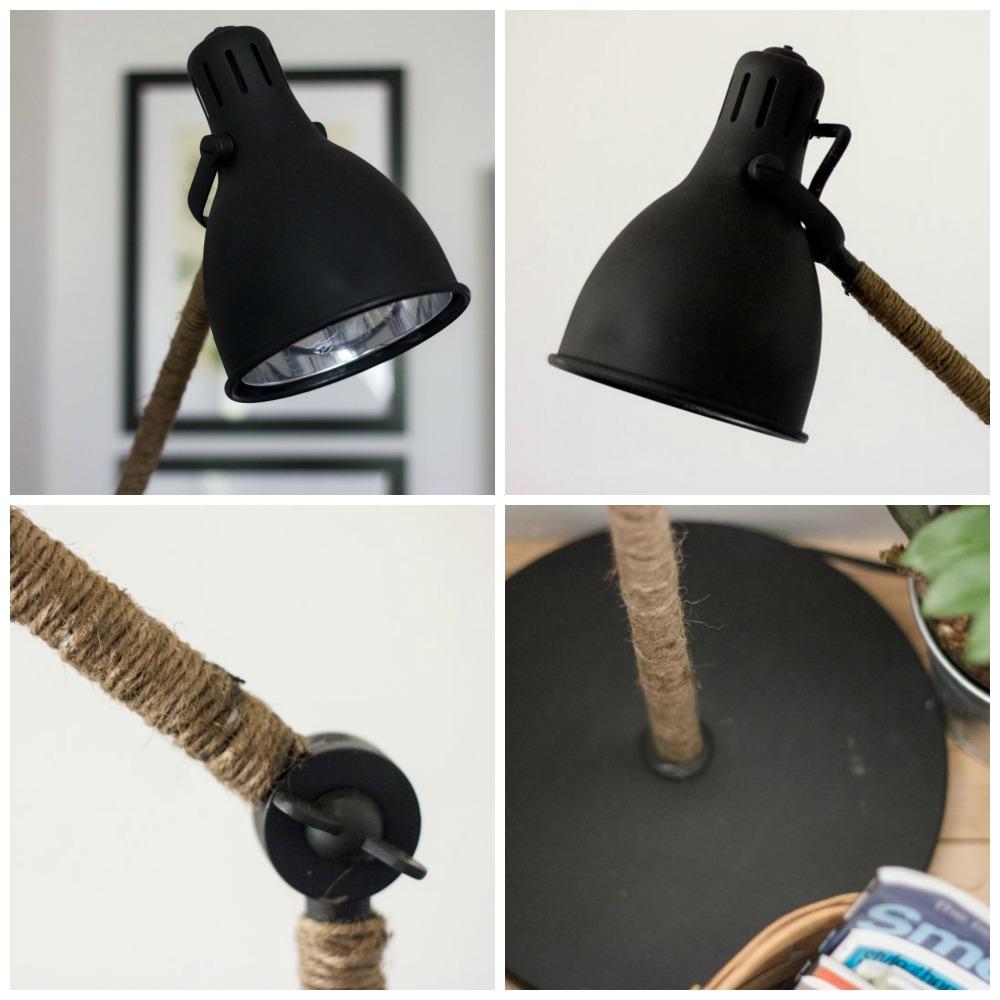 DIY West Elm Inspired Industrial Floor lamp