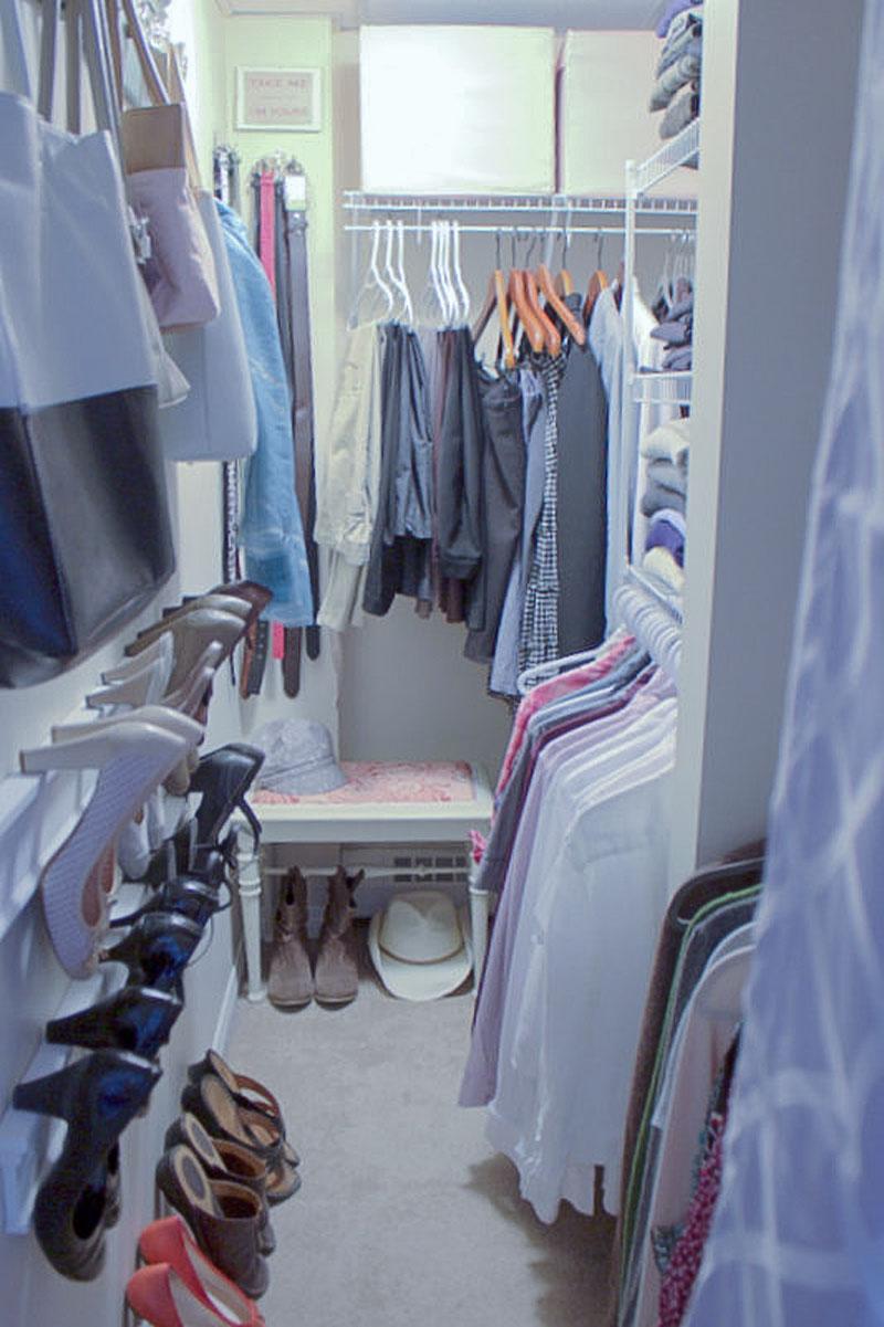 quick closet organization
