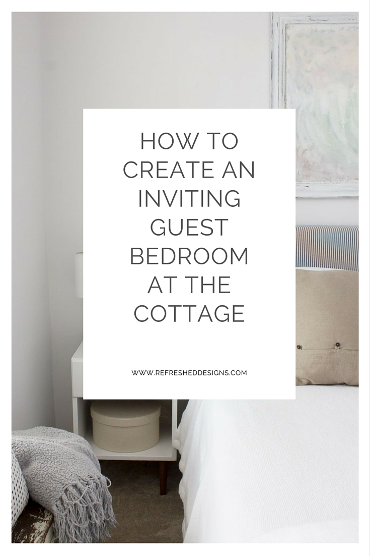 How to Create an Inviting Guest Bedroom