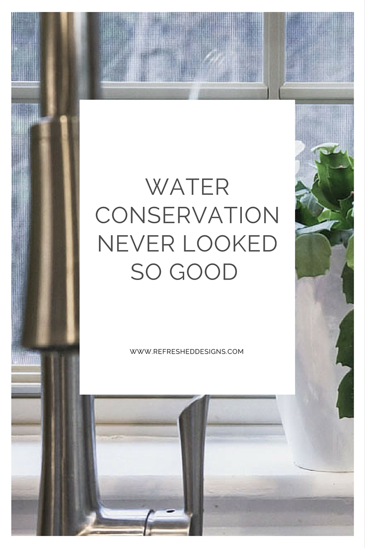 water conservation and good design at home