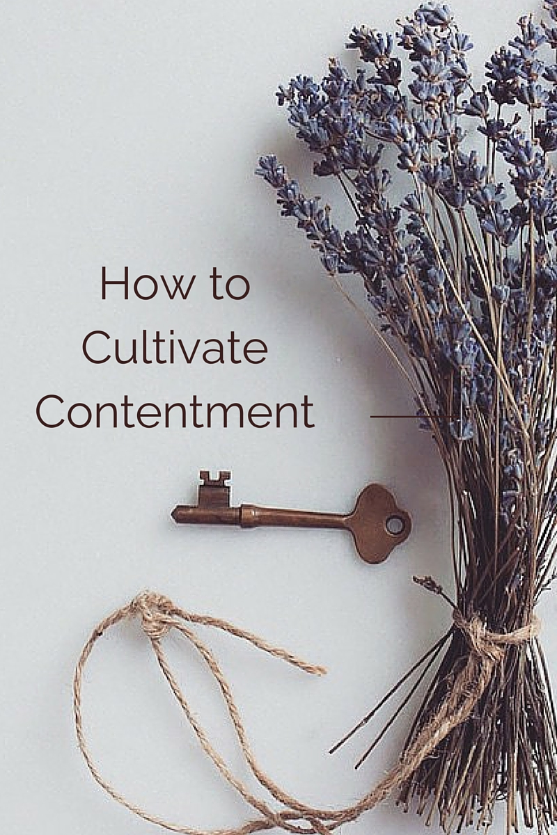 How to cultivate contentment and live a life with intention