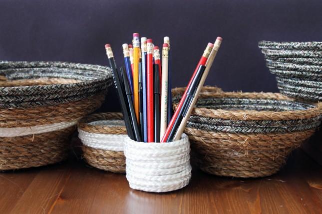 rope nesting bowls DIY via Brit & Co.