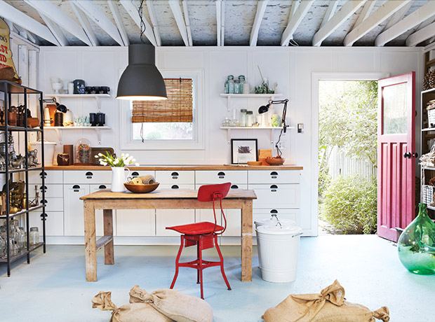 how to convert a garage for extra living space in a small home