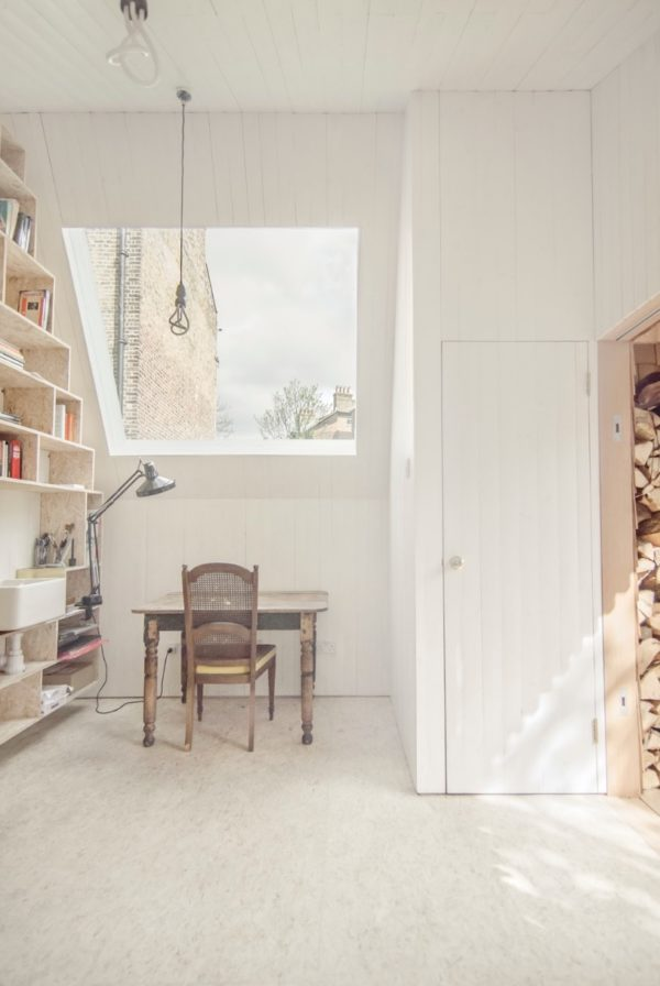 turning a shed into a writer's studio