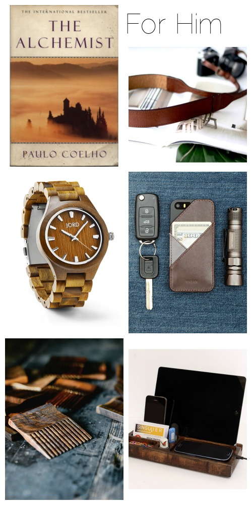 Simple, sustainable and eco-friendly gifts for him 2016 ethical gift guide